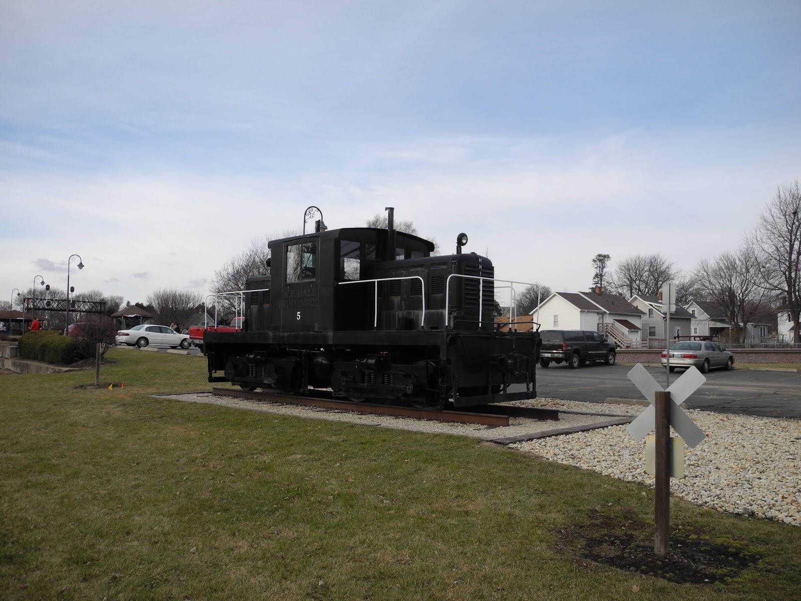 Wisconsin Explorer Rochelle Railroad Park Rochelle Illinois