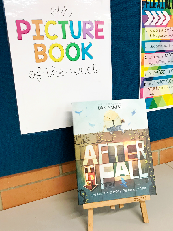 Picture Book of the Week - how using picture books as weekly read alouds can improve the reading skills of a class | you clever monkey