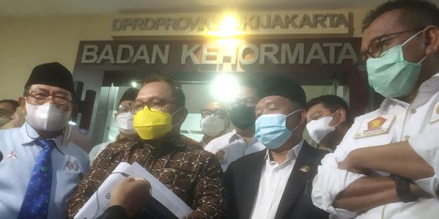 Bikin Paripurna Ilegal, Ketua DPRD DKI Dilaporkan ke Badan Kehormatan