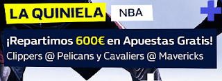 william hill 600 euros en premios nba