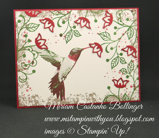 Miriam Castanho-Bollinger, #mstampinwithyou, stampin up, demonstrator, dsc, all occasions card, flourishing phrases stamp set, picture perfect stamp set, touches of texture, big shot, flourish thinlits, su