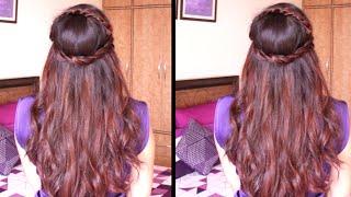 Cute Head Band Hairstyle   Hair Tutorial