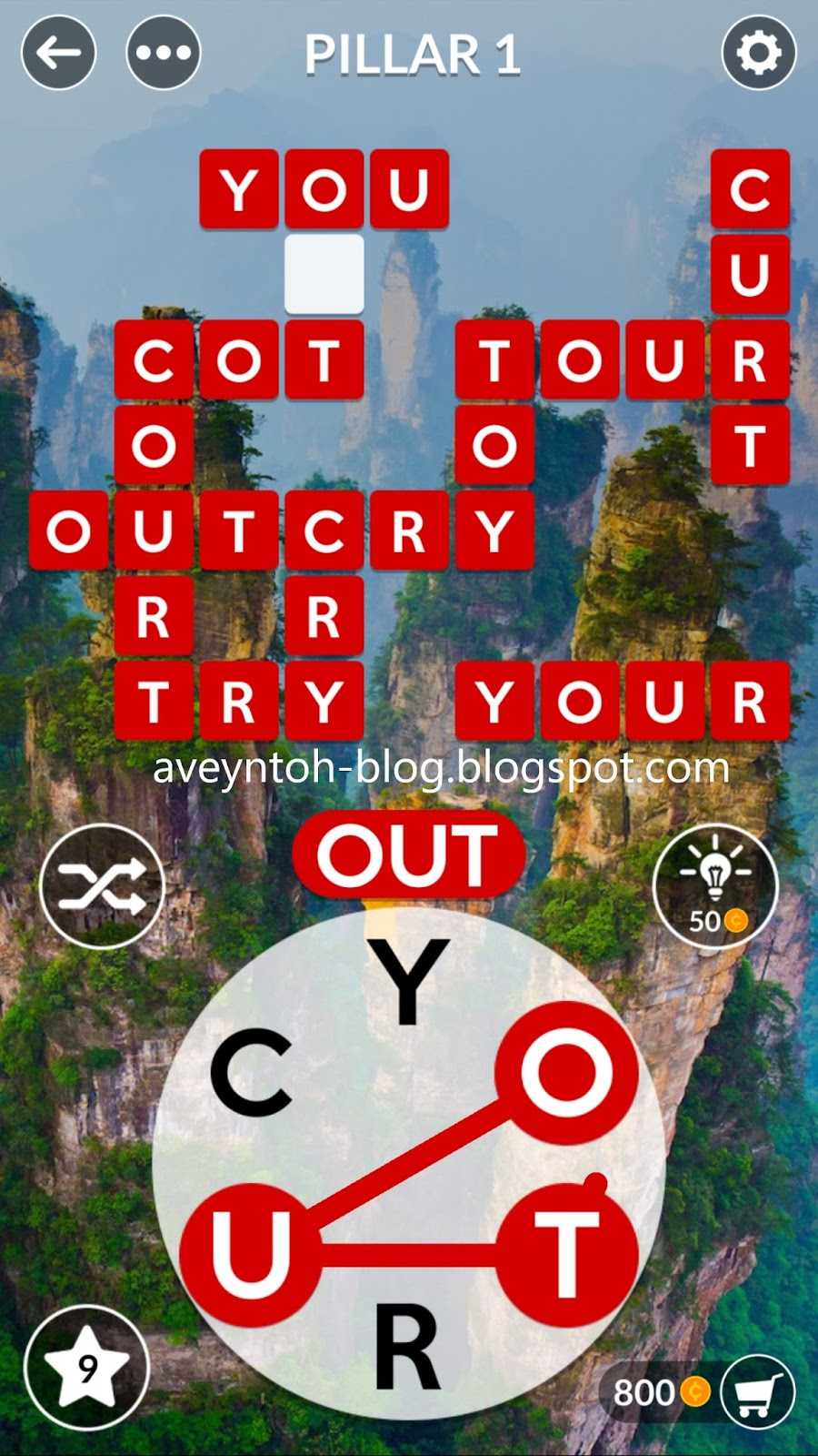 Bonus Word S Cor Cur Our Rot Tory Yurt Coy Rout Rut