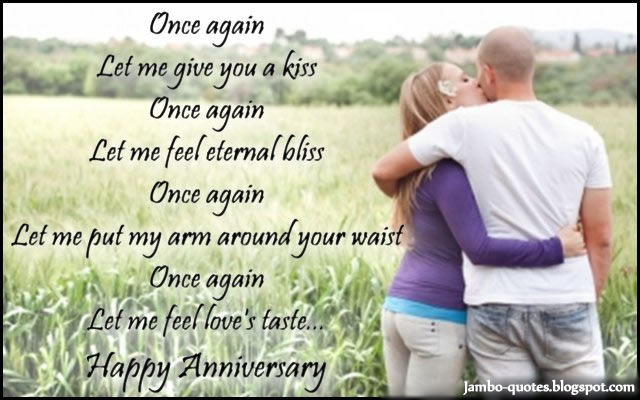 happy anniversary to my wife facebook status