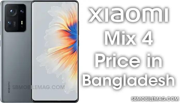 Xiaomi Mix 4, Xiaomi Mix 4 Price, Xiaomi Mix 4 Price in Bangladesh