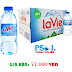Thùng nước khoáng LAVIE 24 chai 350 ml- LAVIE 350ML