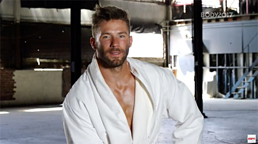 Two-time Super Bowl champion and New England Patriots' wide receiver Julian Edelman shares how he fuels his body and says his scars tell his story.