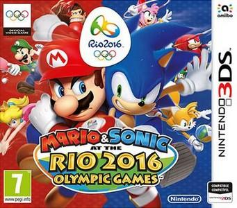 Rom Mario & Sonic at the Rio 2016 Olympic Games 3DS