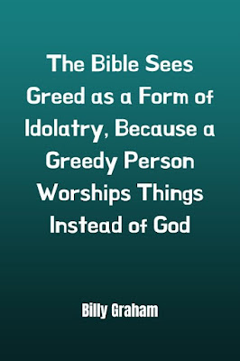Greed Quotes Bible