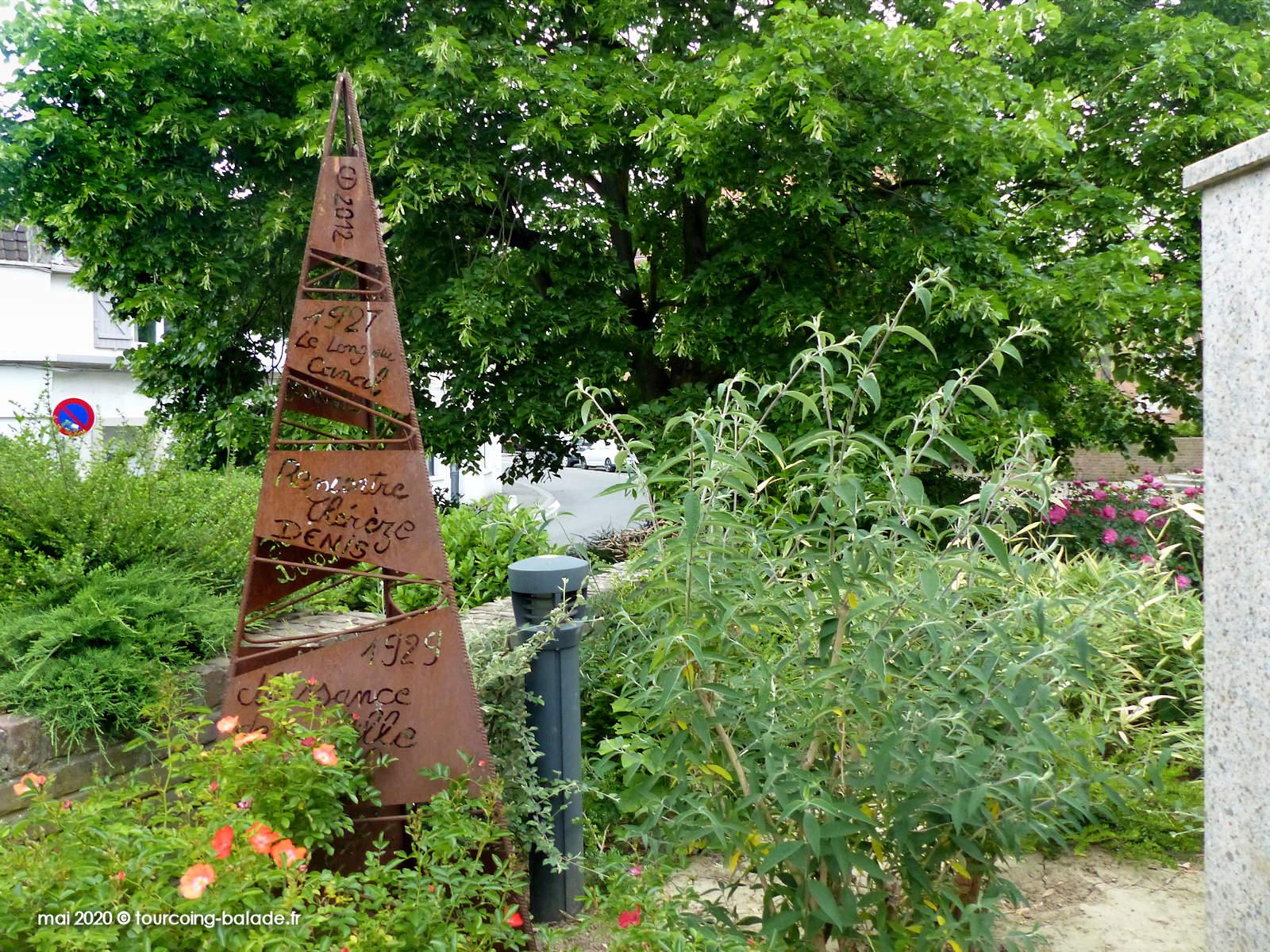 Stèle Monument Van der Meersch, Wasquehal 2020