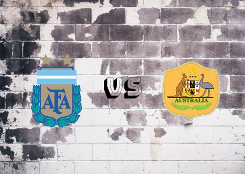 Argentina vs Australia Resumen y Partido Completo