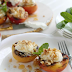 RECIPE: Grilled Peaches with Ricotta, California Walnuts and Honey