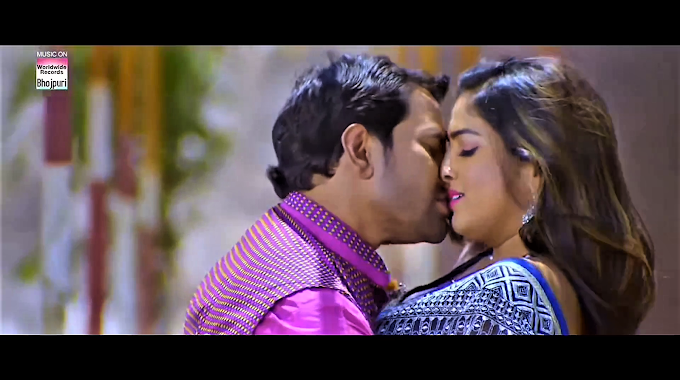 Amrapali Dubey sexy kissing scene - Jai Veeru (2020) HD 720p