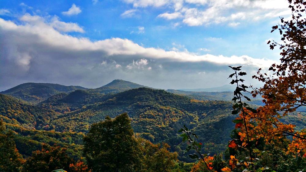 Wandern und Trekking im Herbst