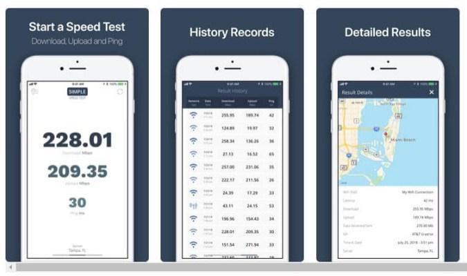 Aplikasi Internet Speed Test Terbaik tuk iOS - Internet Speed Test