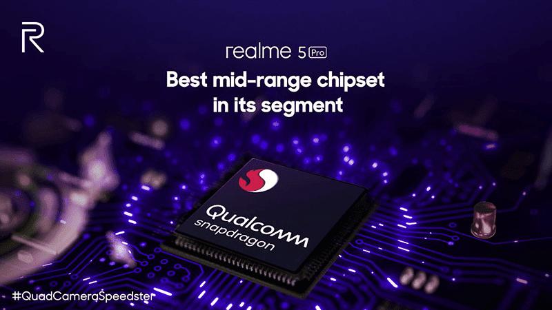 Realme 5 Pro chip