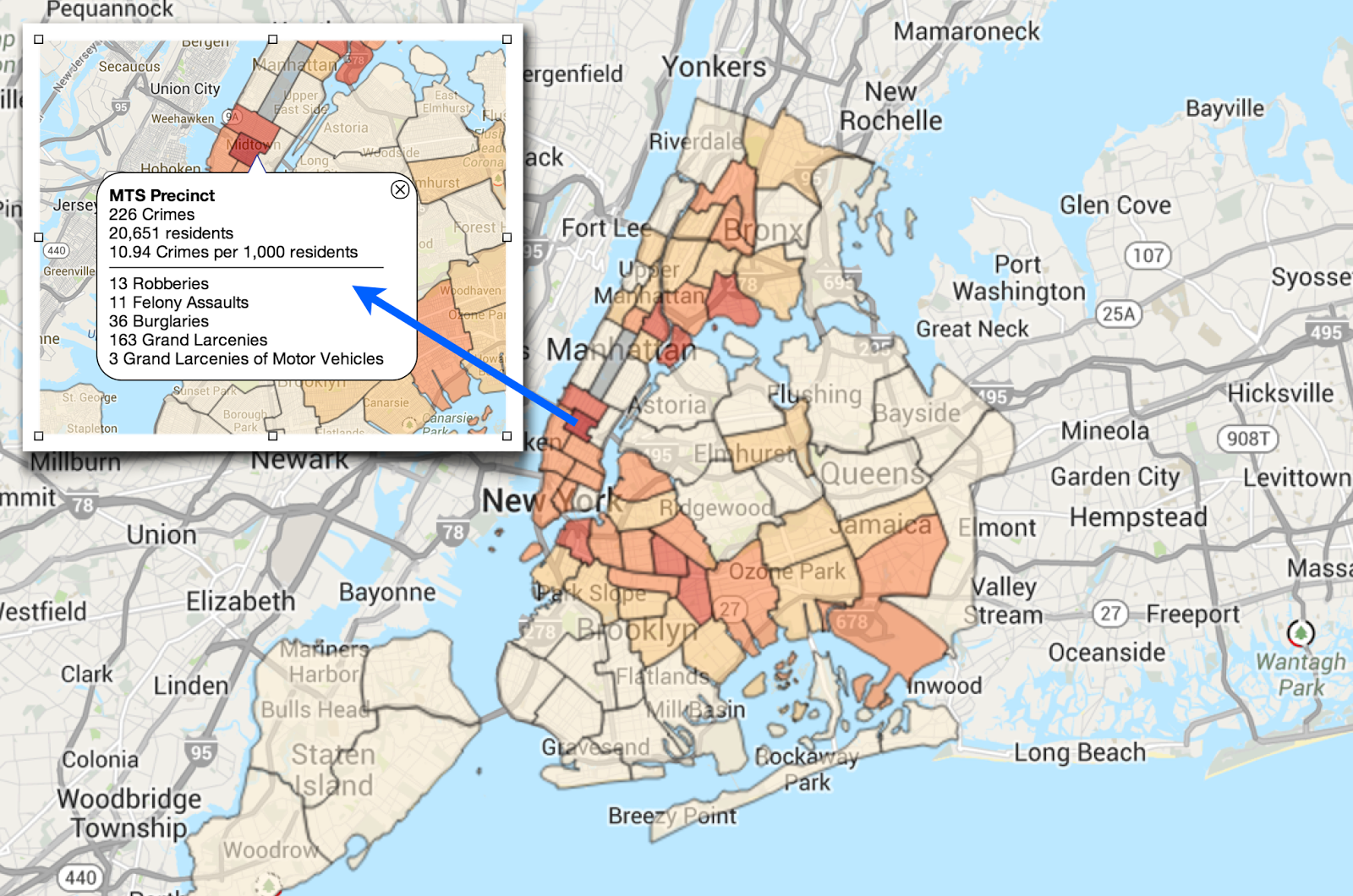 besides publishing the data on their own website see map above the ny times also pulls the info and offers another way to dive into the data
