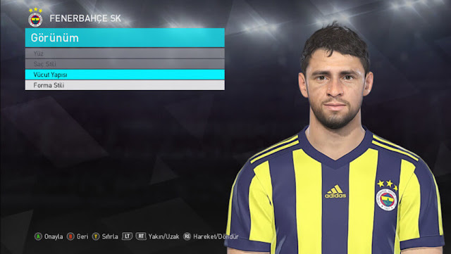 Guiliano Face PES 2018