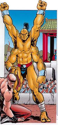 Goro vs Il Grande Kung Lao