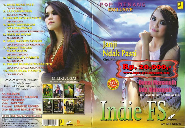 Indie FS - Janji Ndak Pasti (Album Pop Minang Exclusive)