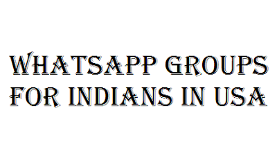 Whatsapp Groups for Indians in USA