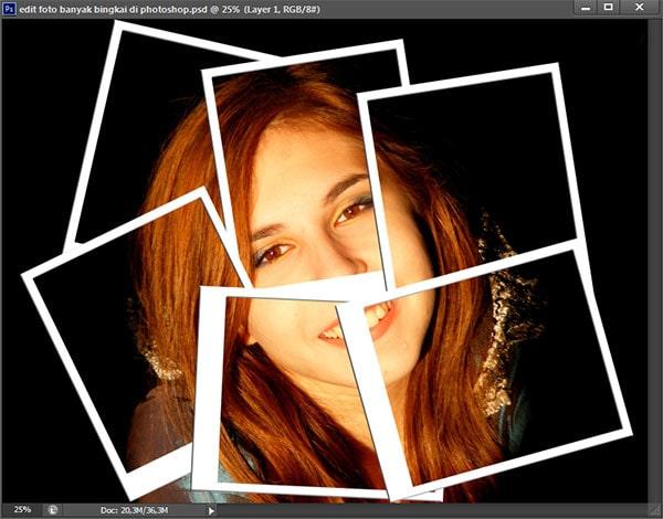 Trikmudah: Cara Edit Kolase Foto Banyak Bingkai Di Photoshop