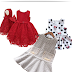 ✂Molde gratuito de vestido infantil tamanhos 1-6 anos✂