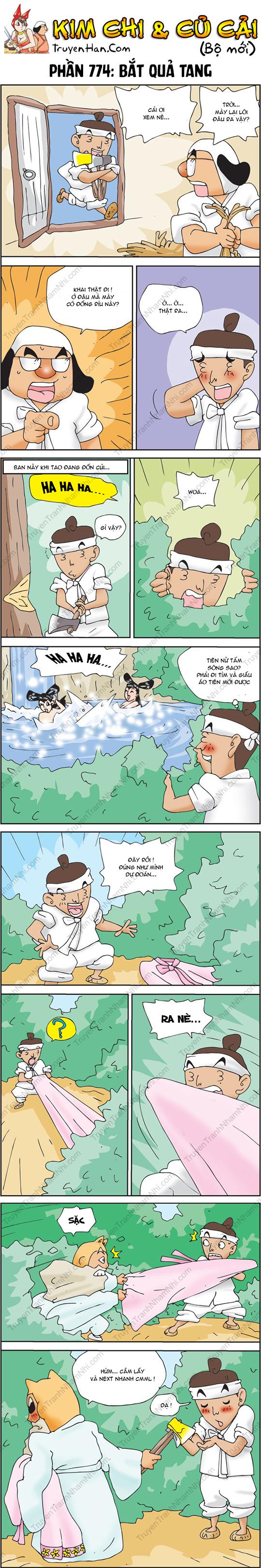 Kim Chi Và Củ Cải Phần 774: Bắt quả tang