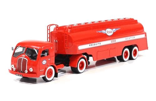 coleccion camiones articulados, camiones articulados 1:43, Somua JL 17 camiones articulados
