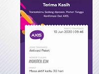Cara Perpanjang Masa Aktif Kartu Axis lewat Aplikasi Axisnet