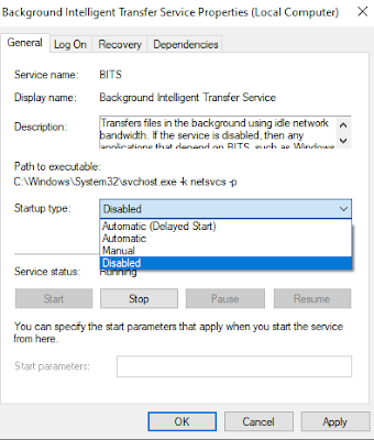 Background Intellegent Task Disable