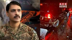 Asif Ghafoor's car accident on motorway