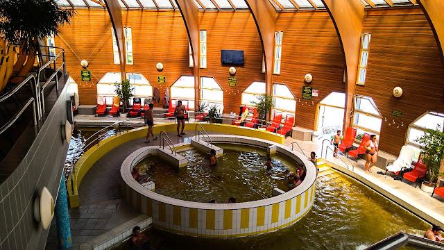 Tiszaújváros - camping i baseny termalne na Węgrzech