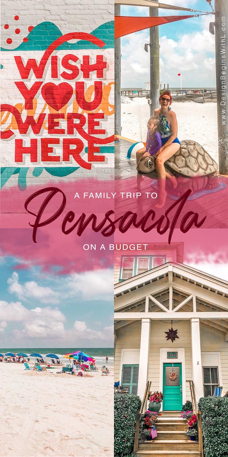 Pensacola on a Budget Pin