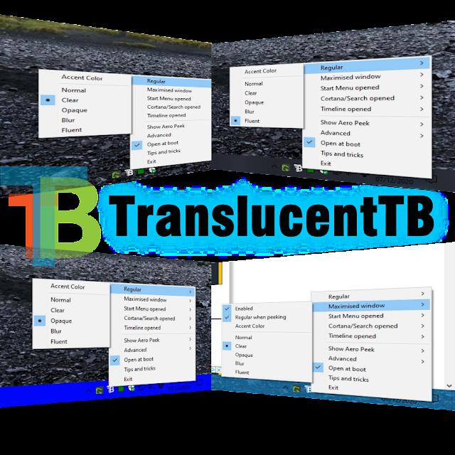 TranslucentTB 9.0.0.0 - Personaliza la barra de tareas de Windows 10