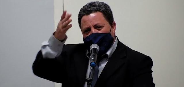 Durante sessão, Vereador Ticão fala sobre sua saída da Secretaria de Saúde