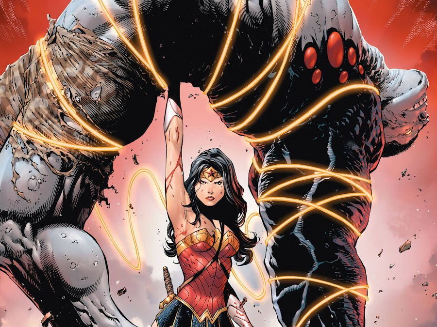 damage vs wonder woman tony daniel robert venditti out of control dc comics