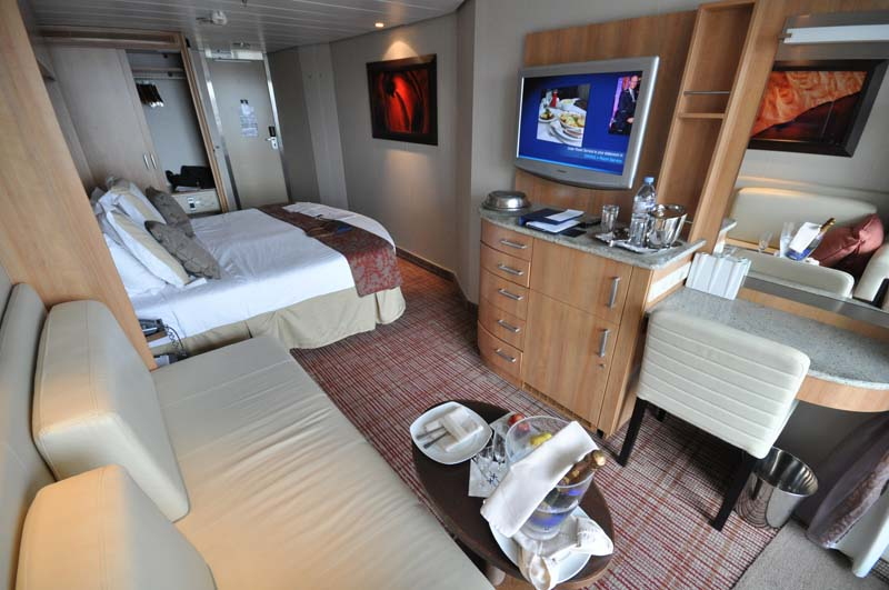 Celebrity Silhouette Cruise Ship Cabins and Suites