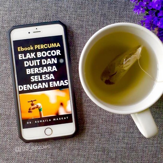 Review eBook : Elak Bocor Duit dan Bersara Selesa dengan Emas oleh Dr. Ruhaila Maskat