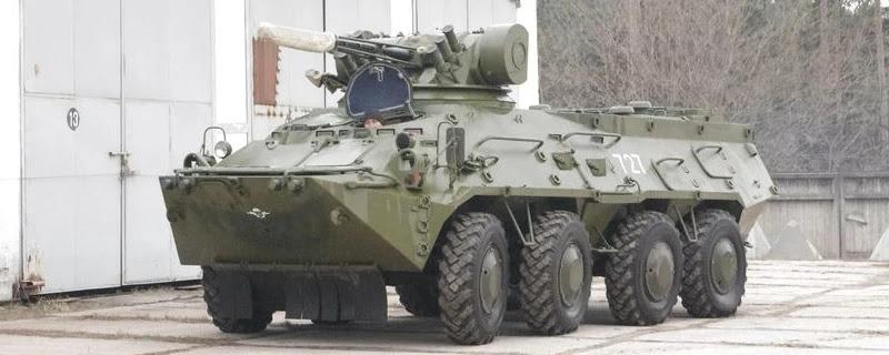 ЗСУ отримали бронетранспортери БТР-3Е1 з двигуном Mercedes