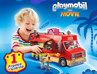Logo Pampers Gioca e vinci 274 Food Truck Playmobil