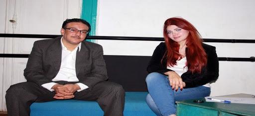 بالفيديو- الشيخ ميزو بنيولوك جديد في حوار صحفي مع ياسمين الخطيب
