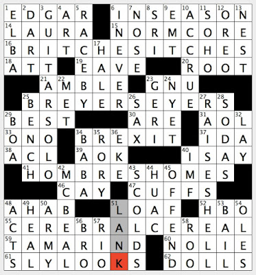 graphic about Ny Times Sunday Crossword Printable known as Rex Parker Does the NYT Crossword Puzzle