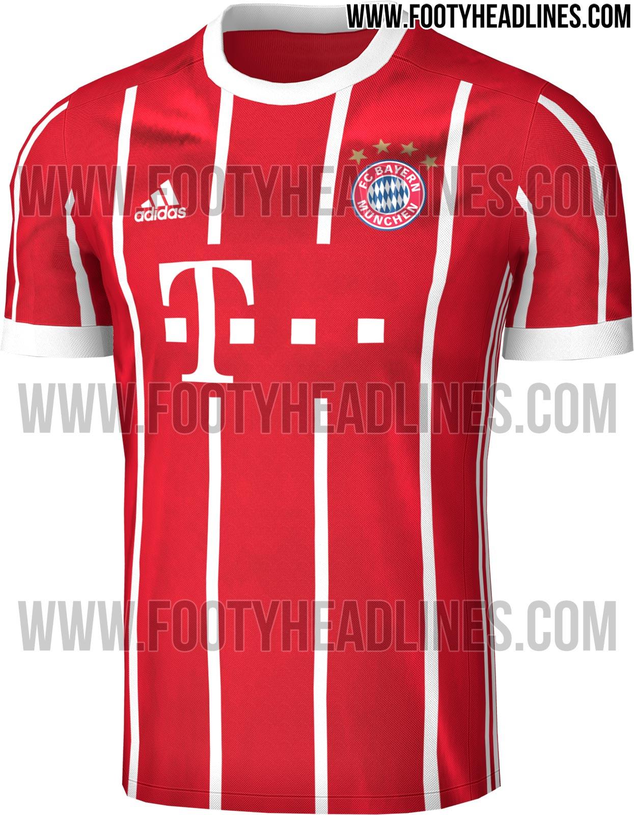 cff39bbd2a0c9 Novas imagens da camisa do Bayern para temporada que vem