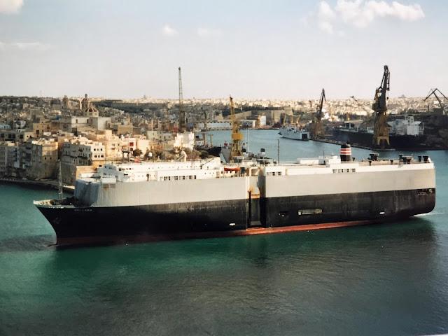 Hafen von La Valletta Malta