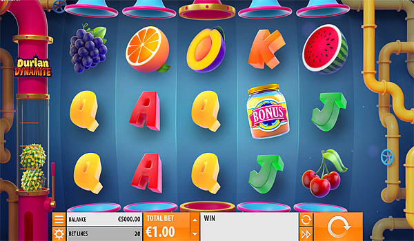 Main Slot Gratis Indonesia - Durian Dynamite (Quickspin)
