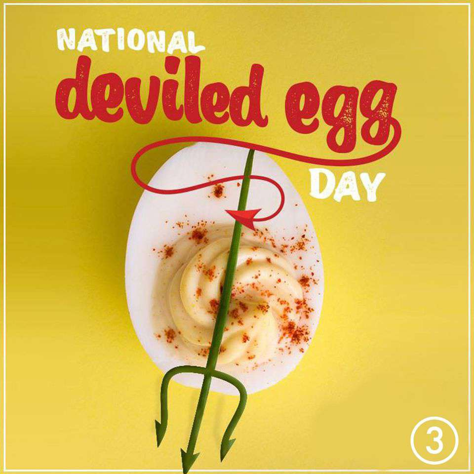 National Deviled Egg Day Wishes Unique Image