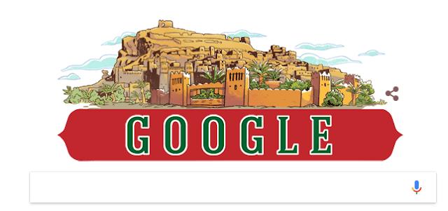 جوجل يحتفل بذكرى 60 للإستقلال المغرب