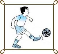 Teknik  menendang  bola  dengan ujung kaki