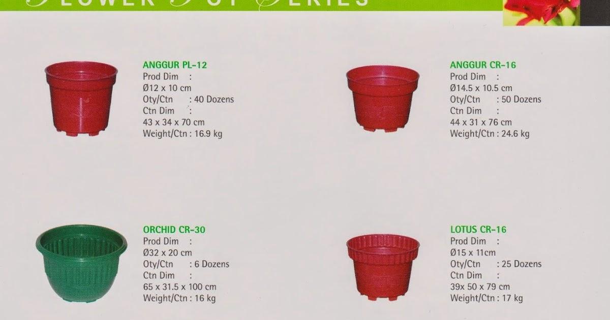 Selatan Jaya distributor barang plastik furnitur Surabaya Indonesia  Pot  Bunga plastik bulat Merk Sunflower bab82b84ad